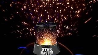 Обзор ночник проектор звёздного неба