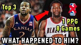 The TOP 3 Recruit That Went UNDRAFTED And Only Played 8 NBA Games! What Happened To Cliff Alexander
