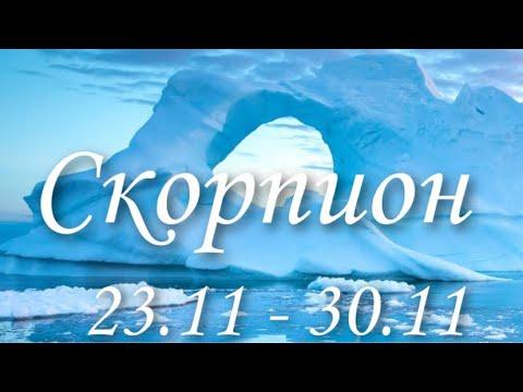 Прогноз на неделю с 23 по 29 ноября для представителей знака зодиака Скорпион