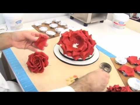 как приготовить мастику для цветов пошагово