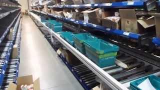 видео: EnDeEx сборочный участок автоматизированного конвейера (фармацевтический склад)