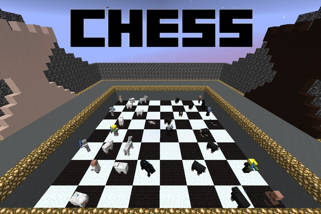 Playable chess game in minecraft youtube Where can i buy a chess game