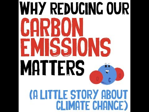 Why reducing our carbon emissions matters (a little story ab