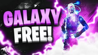 FREE FORTNITE GALAXY SKIN! (AFTER PROMOTION...)