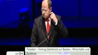 Peer Steinbrück: Die Spareinlagen sind sicher? Fragen sie mich nicht nach ....! die Bananenrepublik
