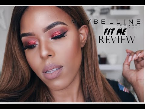 MY HONEST REVIEW ON THE MAYBELLINE FIT ME FOUNDATION   NALEDI MALLELA