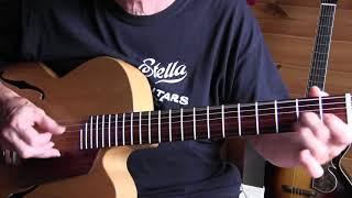 """Lightnin' Hopkins style Lesson  """"Blues in the Bottle"""""""