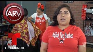 La niña peluquera que es sensación en Houston | Al Rojo Vivo | Telemundo