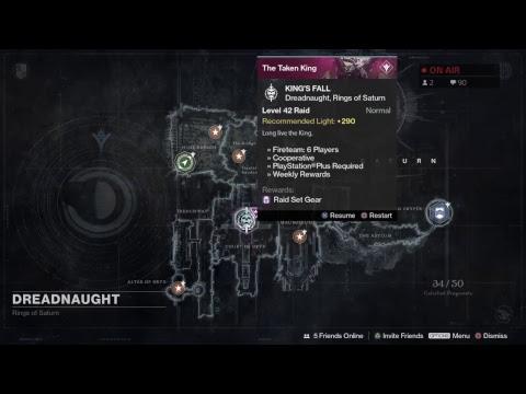 Destiny kings fall raid first time
