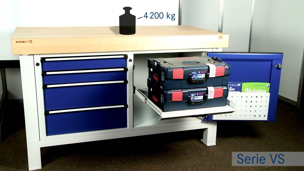 ANKE Werkbänke Serie VX und VS mit Hartschaumeinlagen - YouTube