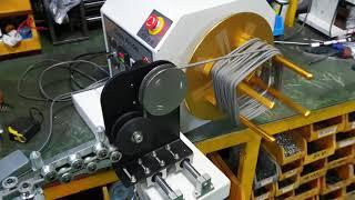 케이블 권선기 (길이체크) Cable rewinding…