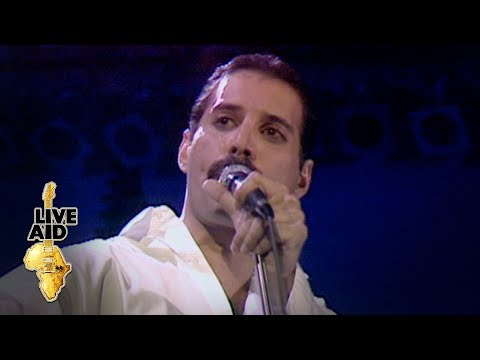 Freddie Mercury & Brian May - Is This The World We Created? (Live Aid 1985)