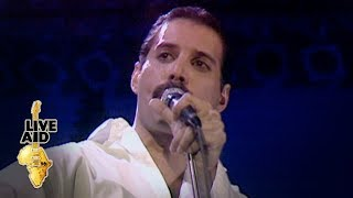 Freddie Mercury & Brian May - Is This The World We Created (Live Aid 1985)