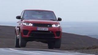 Thrashing the 2015 Range Rover SVR - /SUTCLIFFE on /DRIVE