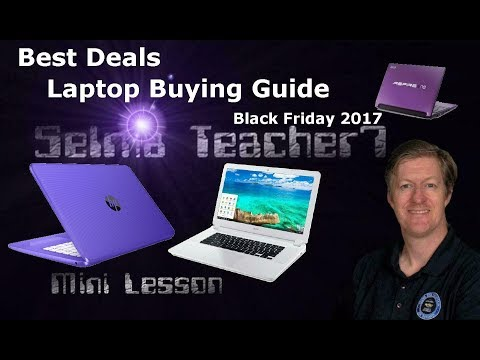 Best Laptop Deals For Black Friday 2017 - Lenovo, Dell, Samsung, HP...