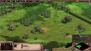 【Age of Empires II Definitive Edition】3 v 3 AI hard   ブルガリア Bulgarians