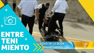 Caos en la boda de Chiquis Rivera y Lorenzo Méndez   Un Nuevo Día   Telemundo