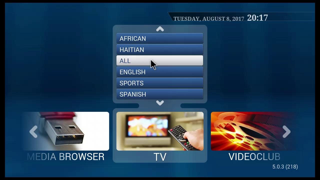 iptv-tvip com - Settings Portal - Global TV Box