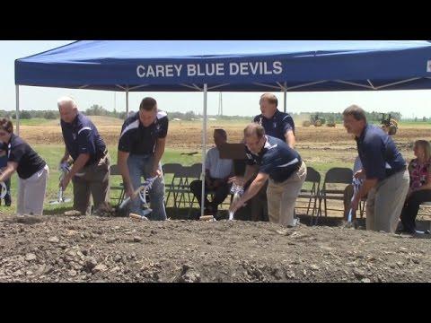 New Carey High School groundbreaking ceremony