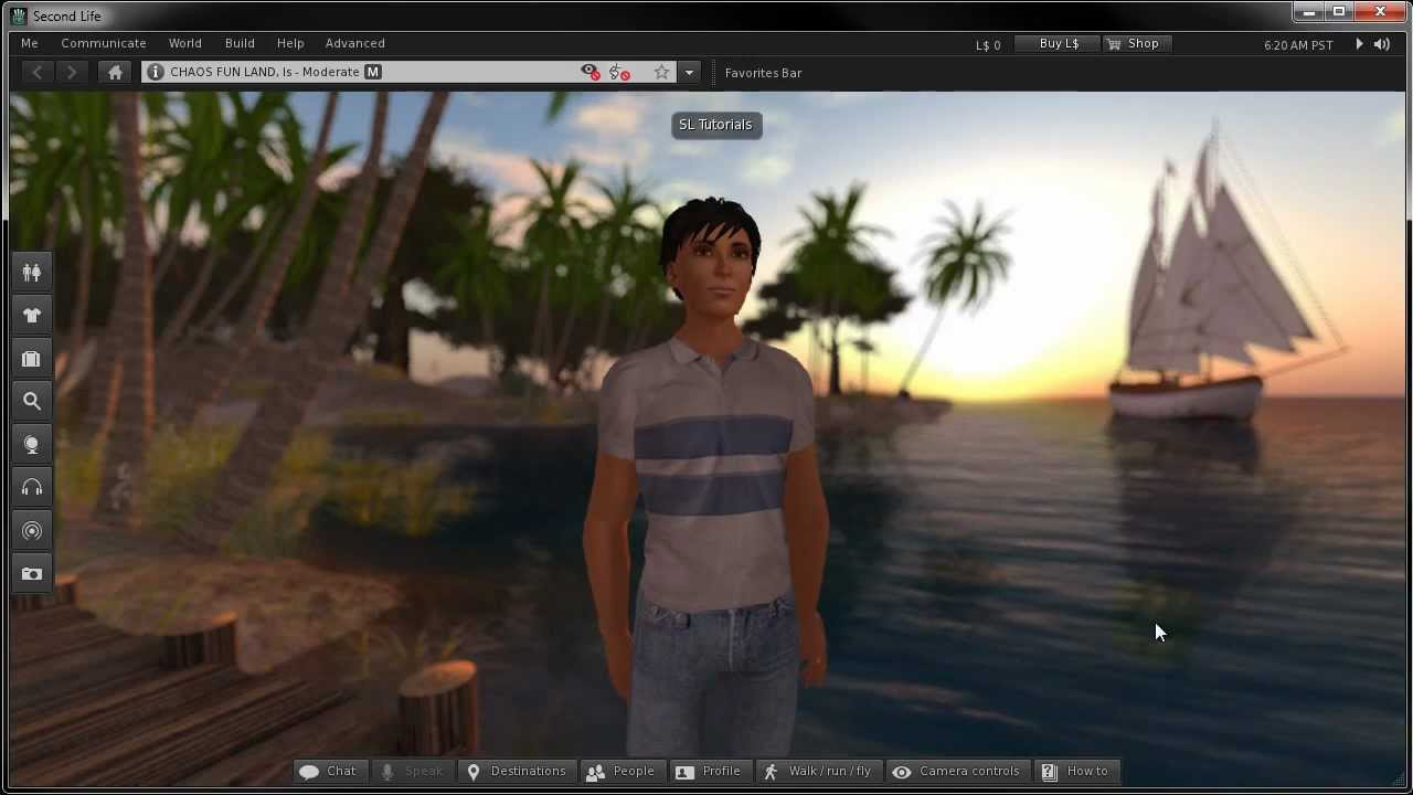 Second Life QuickTips - Customizing Your Appearance