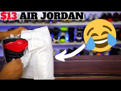 I Bought $13 Knockoff AIR JORDAN SHOES, THIS Is What I Got... 😂😂
