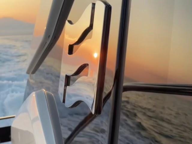 【台灣玩遊艇】澎湖、夕陽、海