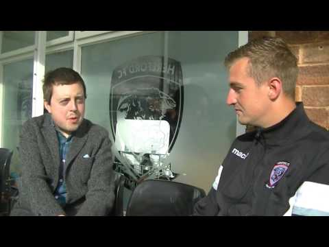Ladbrokes interviews Hereford FC player John Mills for the next Jamie Vardy