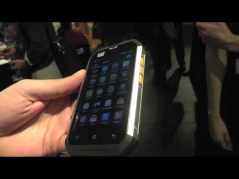 Hands-on with the Cat B15