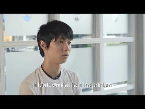 "Olympic Figure Skater Yuzuru Hanyu ""Japan, Canada, and Me"""
