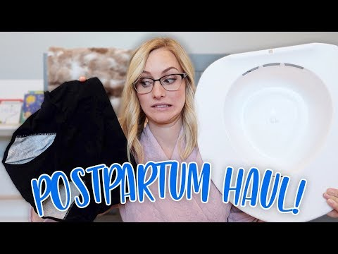 POSTPARTUM HAUL! After Delivery Essentials Every Mom Needs!