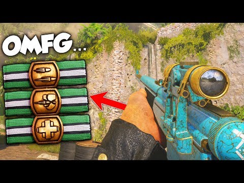 NEW THROWBACK PERKS ARE AMAZING... (USING MW2 PERKS) - COD WW2