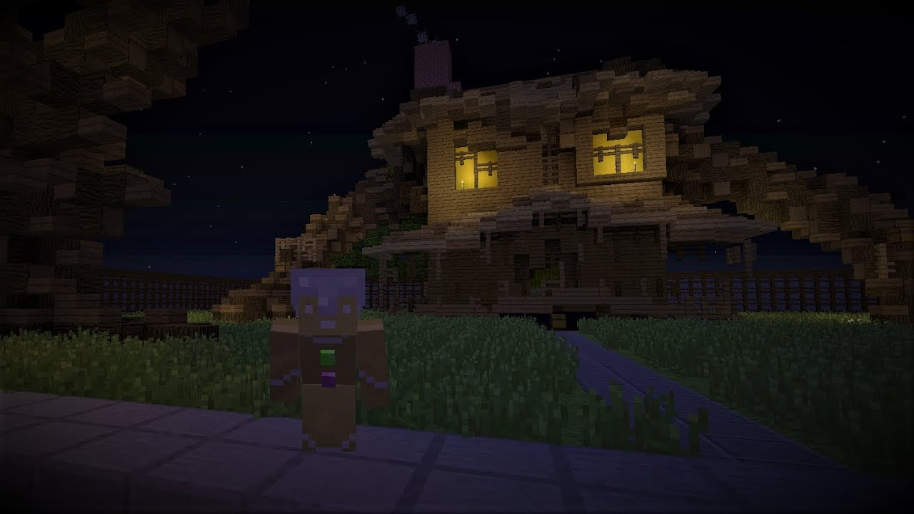 Xbox MInecraft Monster House Hunge Game Maps Download