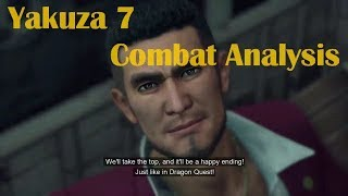 Yakuza 7 Combat Reaction and Analysis