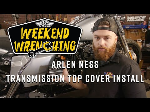 Arlen Ness Transmission Top Cover Install