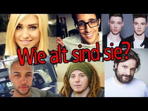 Wie alt sind diese Youtuber?
