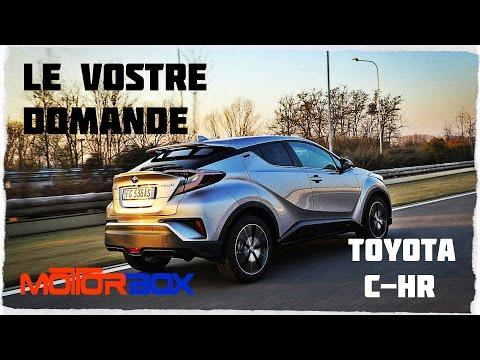 Toyota C-HR: le vostre domande