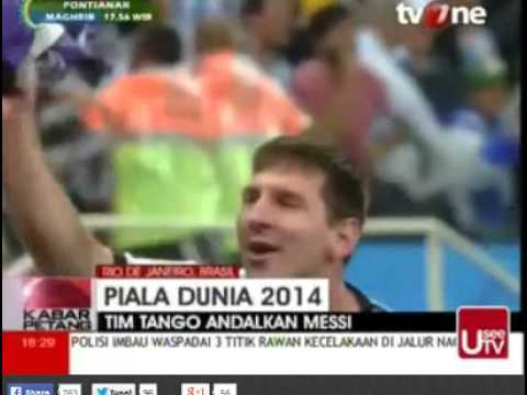 FINAL PIALA DUNIA 2014 - JERMAN VS ARGENTINA - YouTube