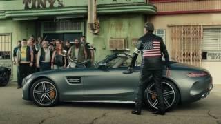 """Mercedes AMG GT Roadster - """"Беспечный ездок"""" от братьев Коэнов"""
