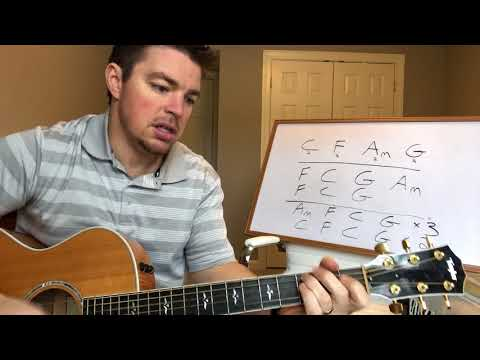 Parallel Line | Keith Urban | Beginner Guitar Lesson