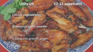 Aloha Chicken Wings recipe