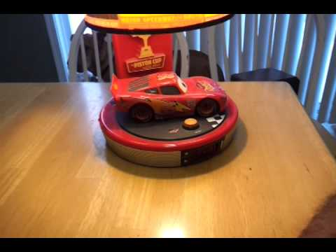 Lightening Mcqueen Alarm Clock Lamp   Cars