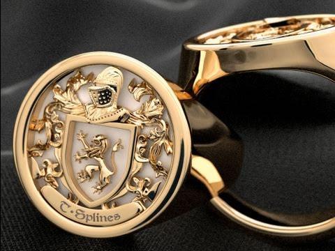 Jewelry ring webinar using T-Splines for Rhino 3D