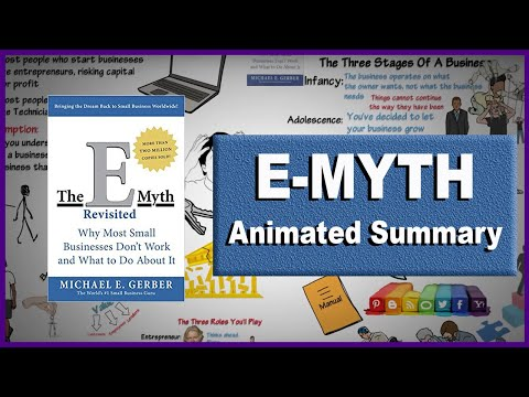 The E-Myth Revisited By Michael E. Gerber | Animated Video Summary | Between The Lines