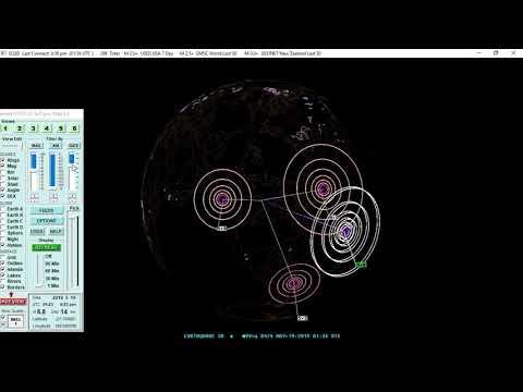 05/18/2019 Oregon 4 2 and New Caledonia 6 8 Earthquake - Time Lapse Spectros