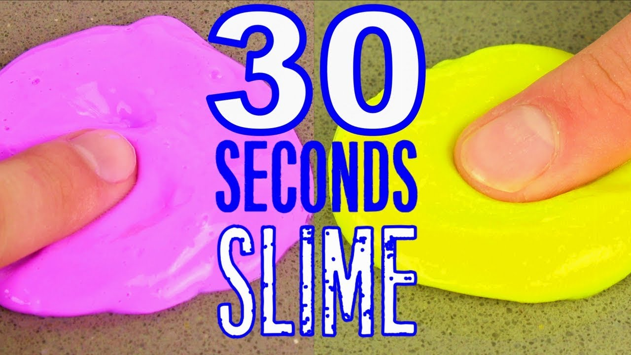 Slime in 30 seconds 3 recipe how to make slime very fast must try slime in 30 seconds 3 recipe how to make slime very fast must try real ccuart Image collections