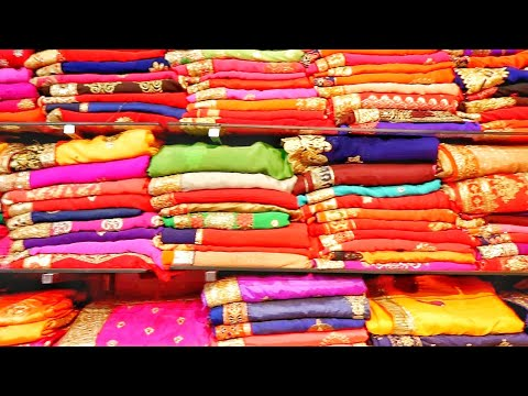 सबसे-सस्ती-साड़ी-मार्केट- -₹800-की-साड़ी-मात्र-₹80-से- -cheapest-saree-market-delhi