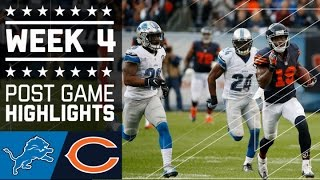 Lions vs. Bears | NFL Week 4 Game Highlights