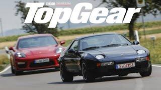 Porsche Panamera GTS vs Porsche 928 GTS  | TopGear Polska