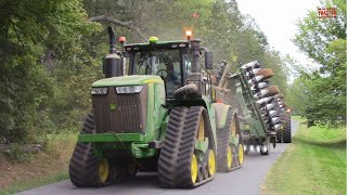 Big Tractors on the Move in Fall Tillage