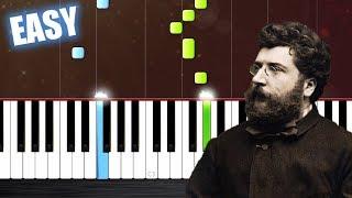Video Georges Bizet - Habanera - Carmen - EASY Piano Tutorial by PlutaX download MP3, 3GP, MP4, WEBM, AVI, FLV September 2018